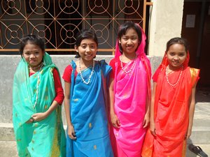 Colorful Children in Rangamati