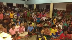 Inter School Cultural Competition, Thanchi- Participants