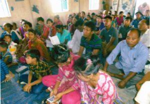 Participants of a seminar in Khagrachory