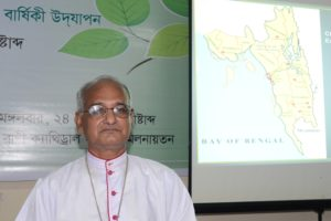 Bishop Moses Costa in the 89th Founding Anniversary of Chittagong Diocese