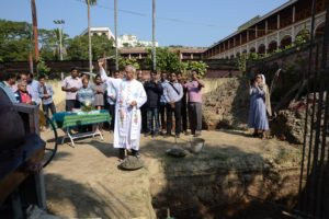Blessing of the site bishop's house, Chittagong