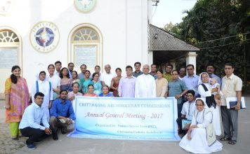 Participants in the AGM of Archdiocesan Commissions