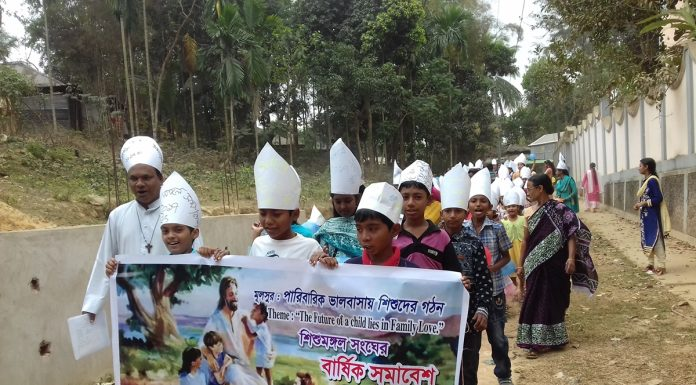 Festive Rally of Missionary Childhood Program, Diang
