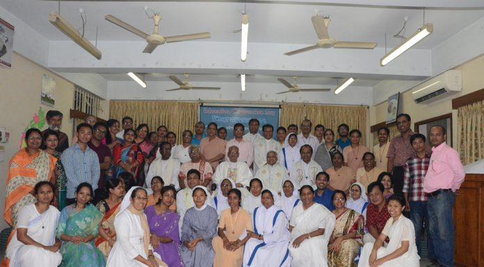 Participants in Education Assembly 2017