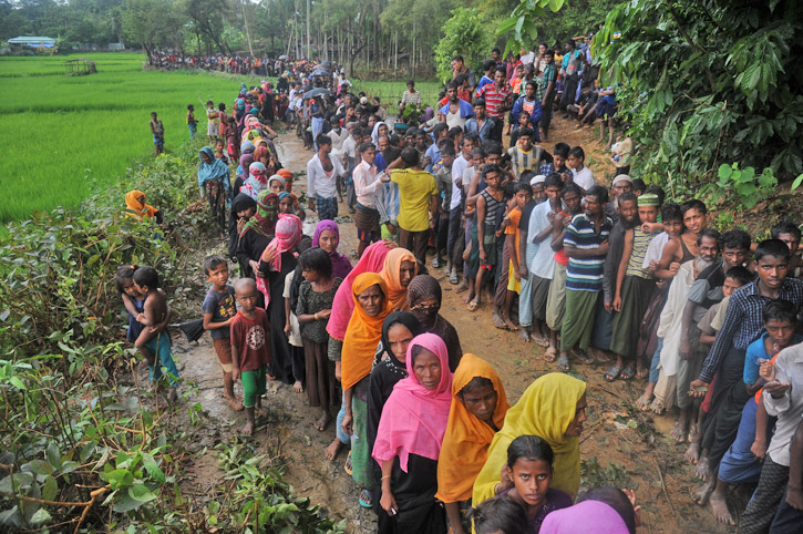 Refugees from Rakhaine State, Myanmar-3