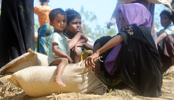 Refugees from Rakhaine State, Myanmar-2