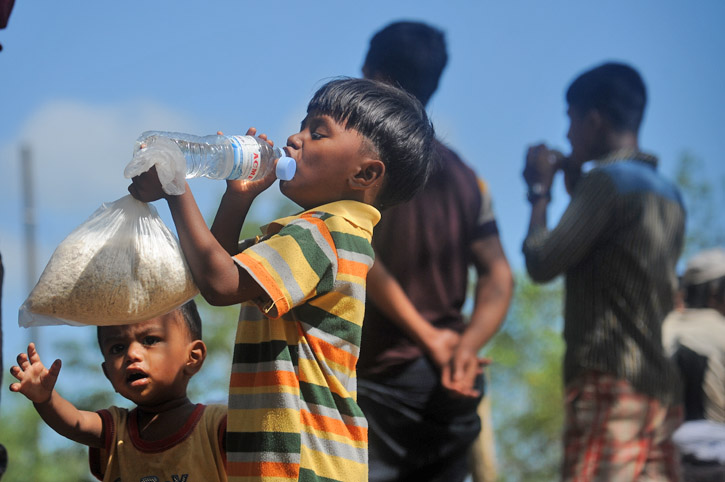 Refugees from Rakhaine State, Myanmar-4