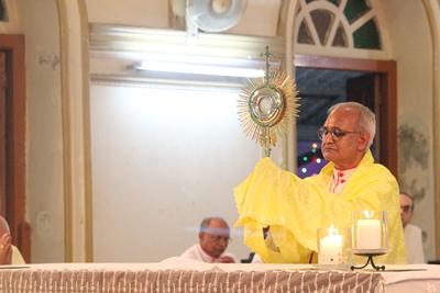 Sacramental Blessing- Archbishop Moses M. Costa, csc